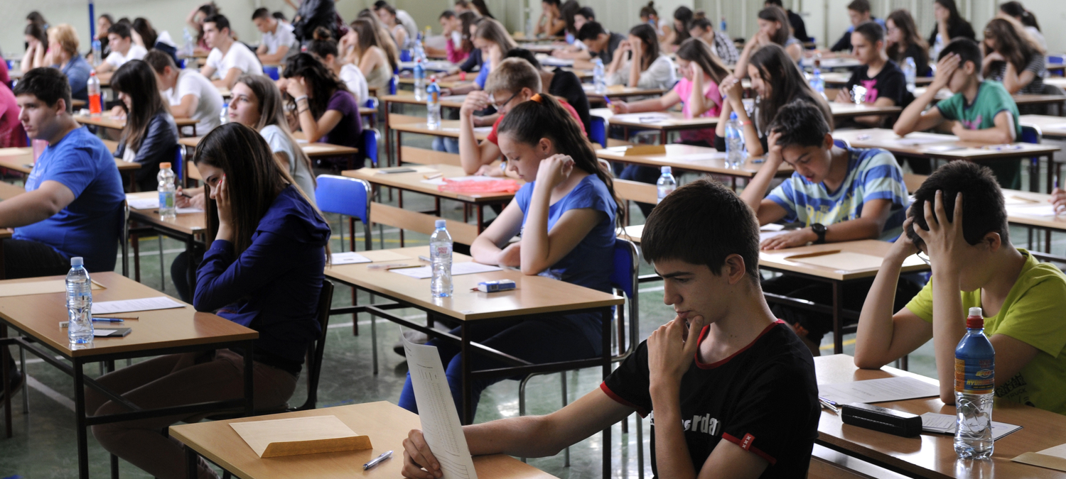 high school exam in belgrade
